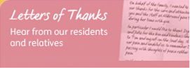 Hear from our residents and relatives