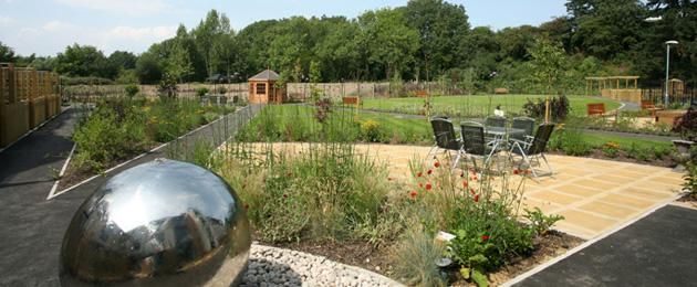 Landscaped gardens for fresh air, relaxation and enjoyment.